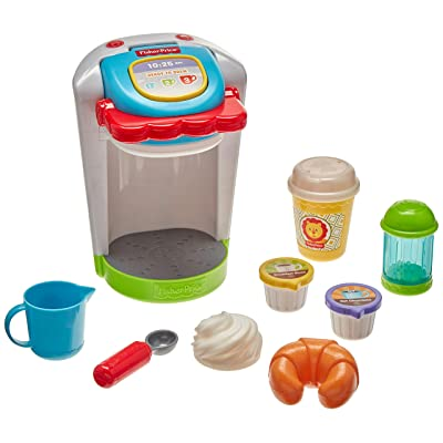 Fisher-Price Coffee Maker Set, Multicolor: Toys & Games