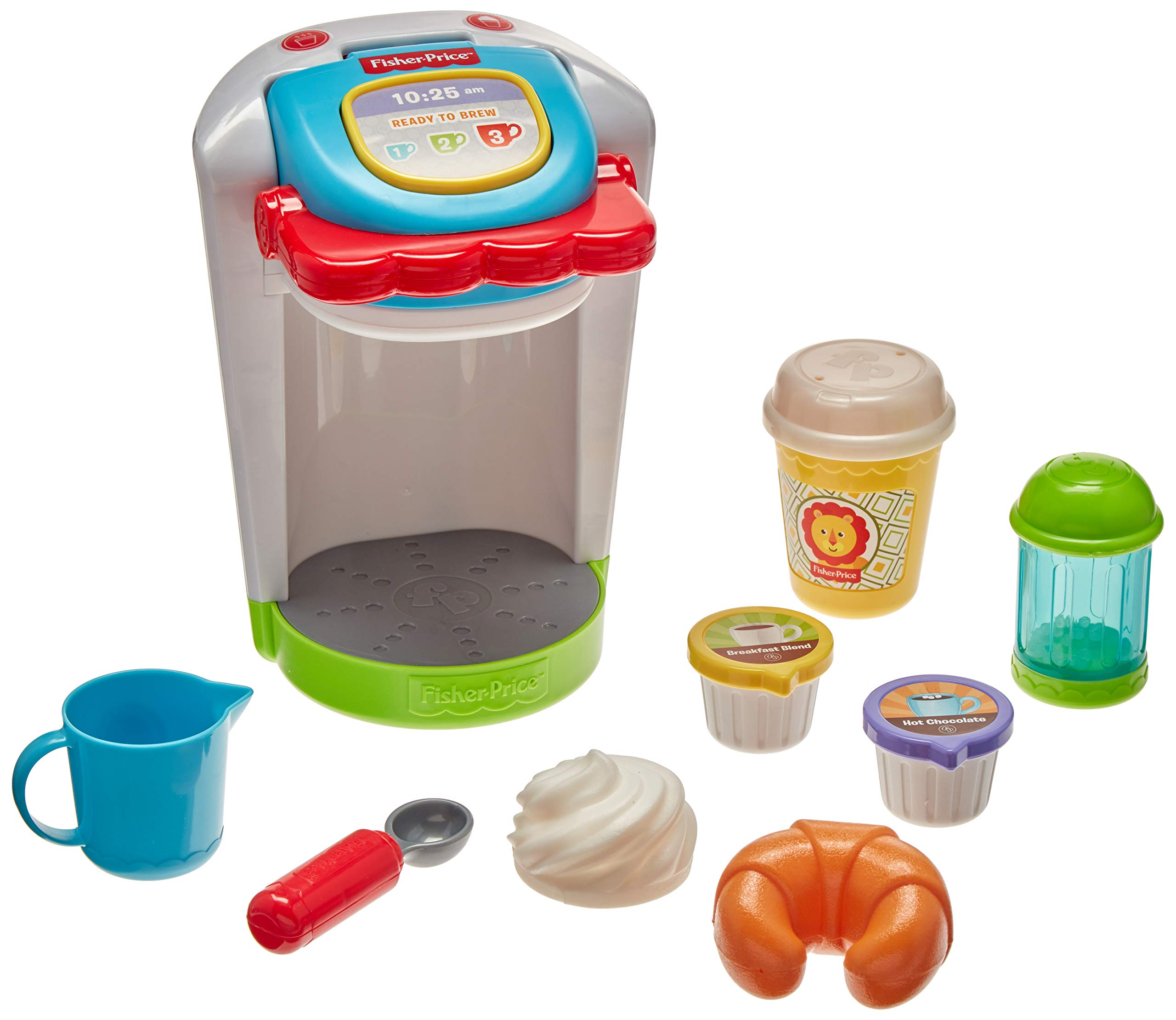 Fisher Price Coffee Maker Set, Multicolor by Fisher Price