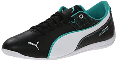 6b7f278eb1e5d5 PUMA Men s Mercedes Drift Cat 6 Leather Lace-Up Fashion Sneaker
