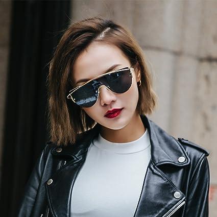 VVIIYJ Pareja Transparente Rosa Anti-Gafas de Sol Mujer Cara ...