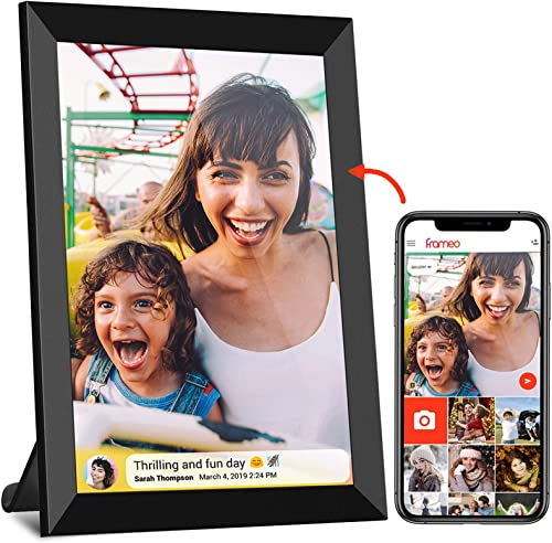 Frameo WiFi Digital Picture Frame 8 inch 800×1280 IPS Touch Screen Smart Cloud Digital Photo Frame