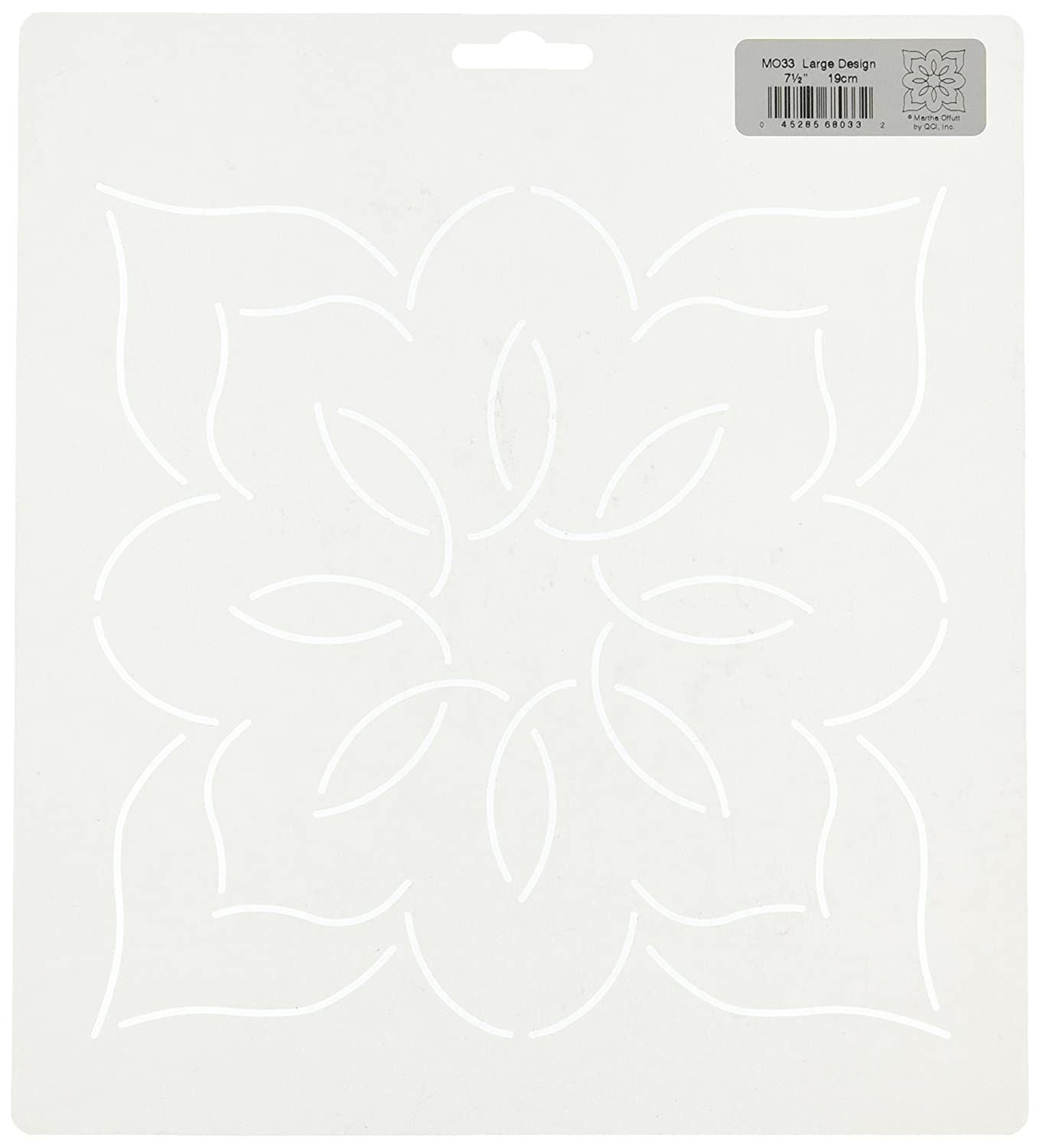 Quilting Creations Quilt Stencil Floral Design, Large MO33QC