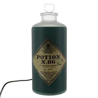 Harry Potter Potion Bottle Light-Twinkle and Static Light Settings: Home Improvement