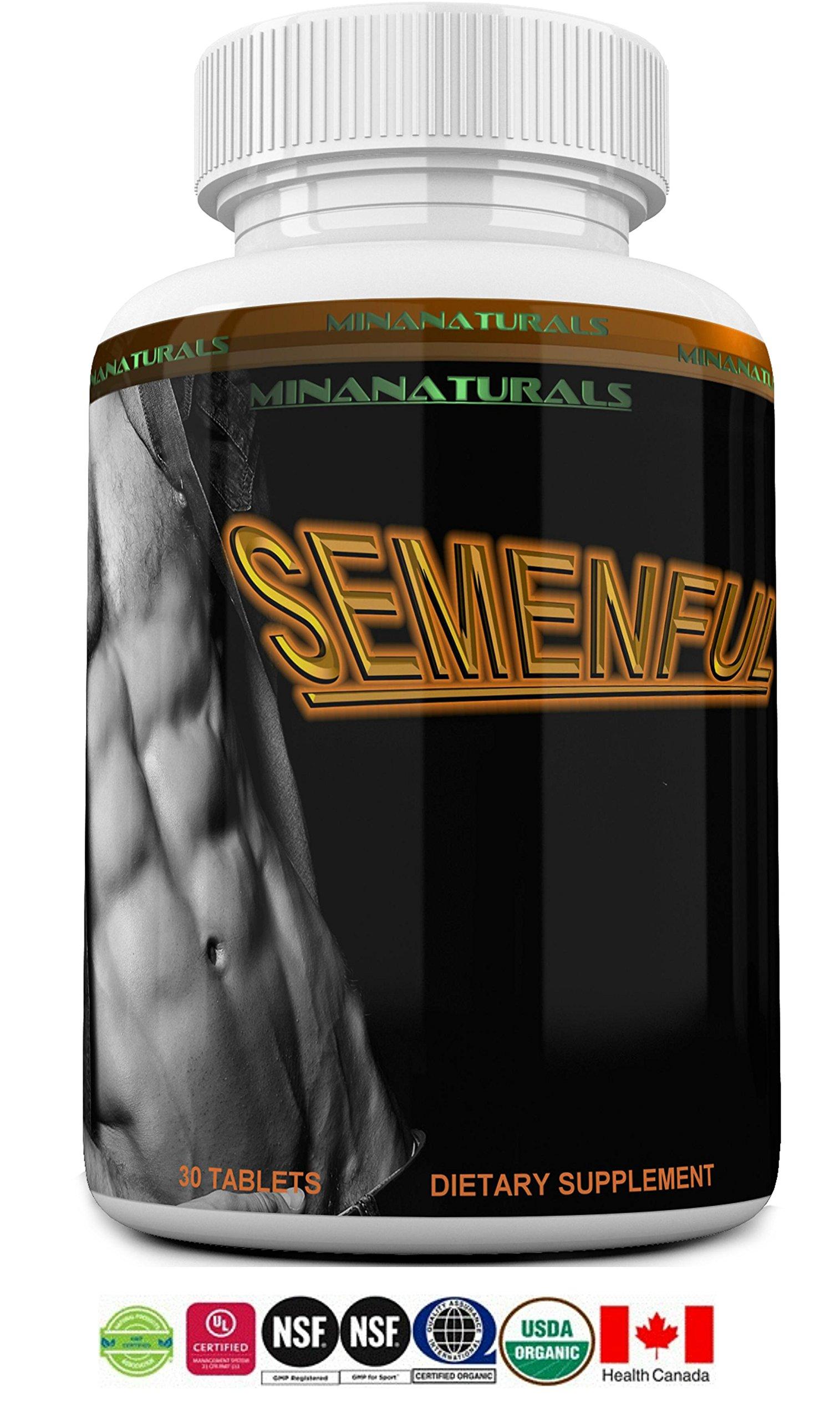 Amazon.com: SEMENFUL Semen Volumizer. Male and Female Climax Enhancer. Cum  Volume Enhancement. Semen Volume Increaser. 30 Tablets: Health & Personal  Care
