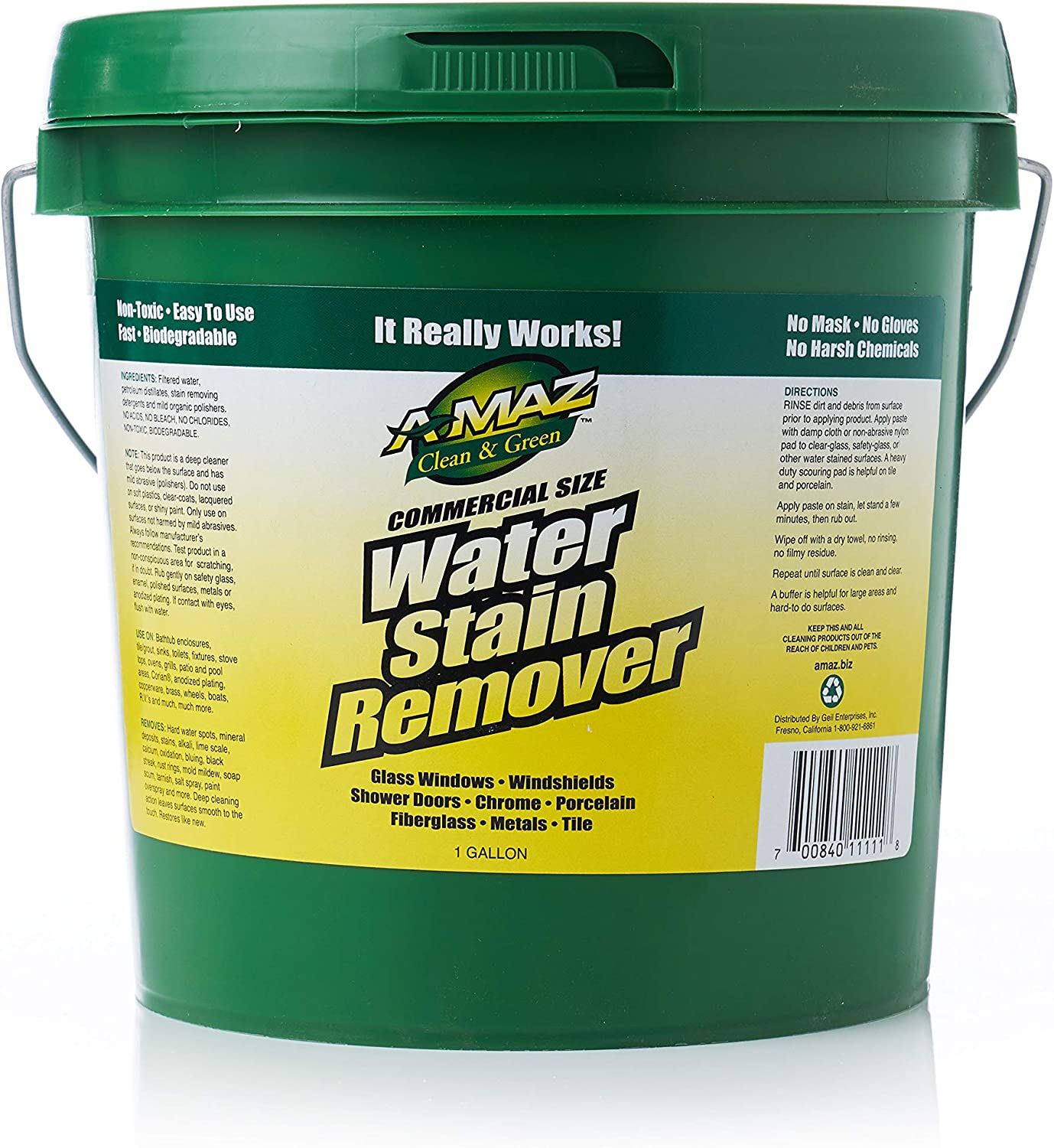 A-MAZ Water stain remover - 1 Gallon
