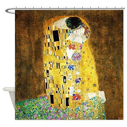 Amazon CafePress Gustav Klimt The Kiss Shower Curtain