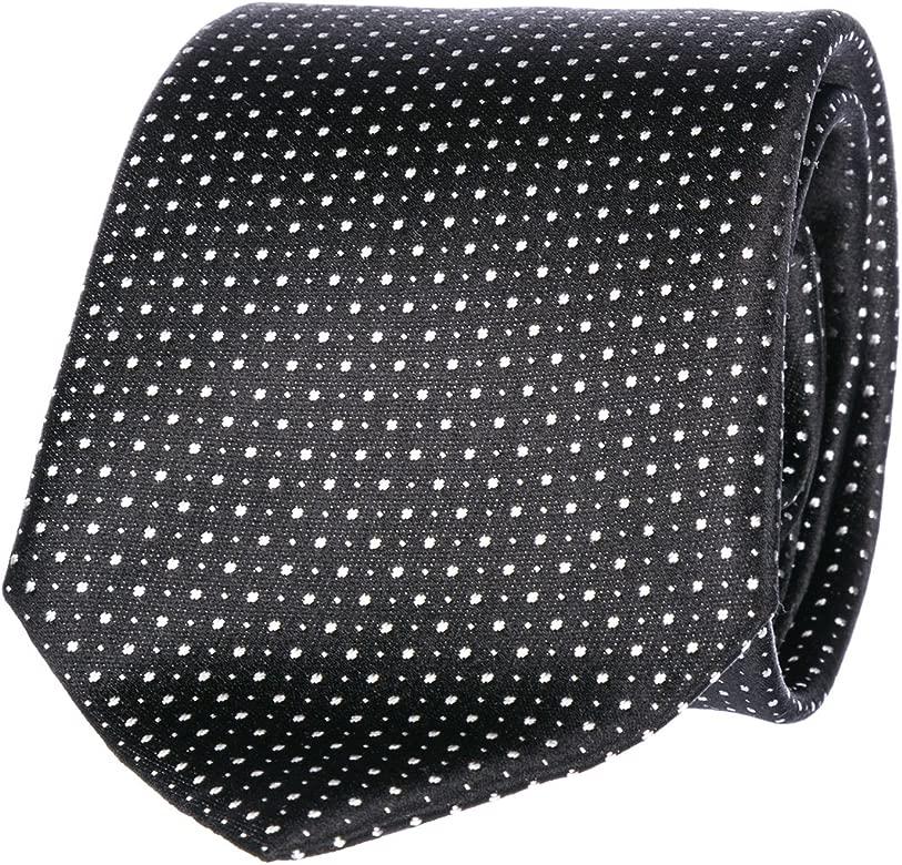 Emporio Armani corbata de hombre nuevo negro: Amazon.es: Ropa y ...