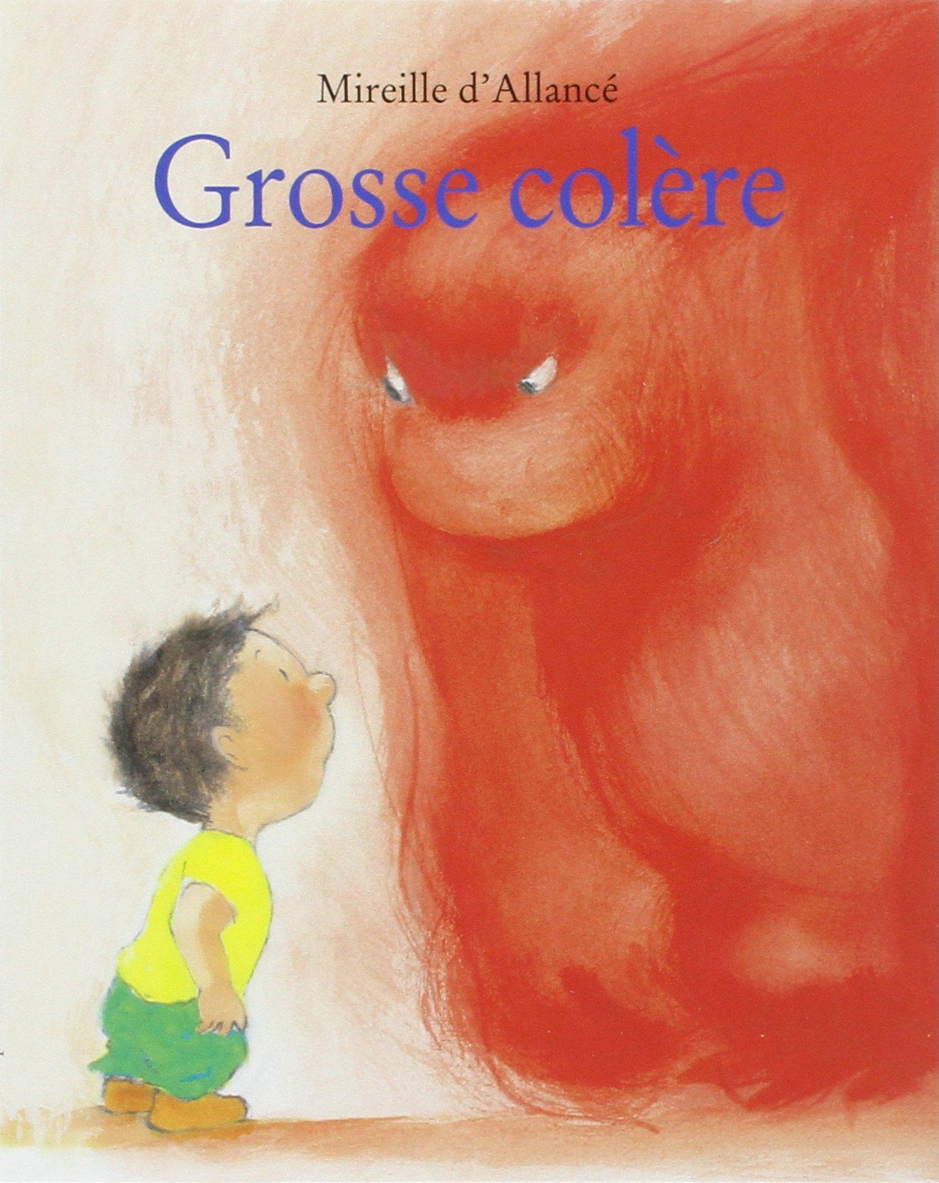 Grosse colère Poche – 24 mai 2001 Mireille d' Allancé L'Ecole des Loisirs 221106177X Colère - Fiction