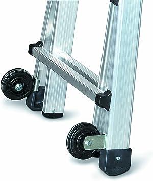 Euro Line Premium Accesorios rollos de rueda Vario – Escalera Escaleras Escalera 3160010: Amazon.es: Bricolaje y herramientas
