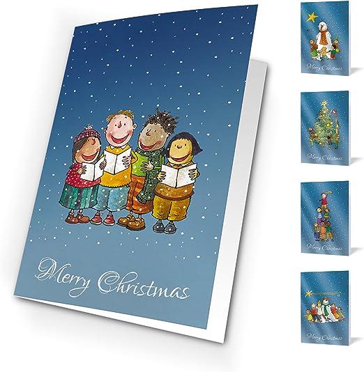 Unicef XR15280976 Tarjetas de Navidad Winter Games, Pack de 10 Tarjetas: Amazon.es: Oficina y papelería