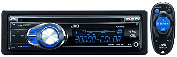 amazon com jvc kd r300 30k color illumination single din cd rh uedata amazon com JVC KD R330 Specs JVC KD R330 Wire Diagram