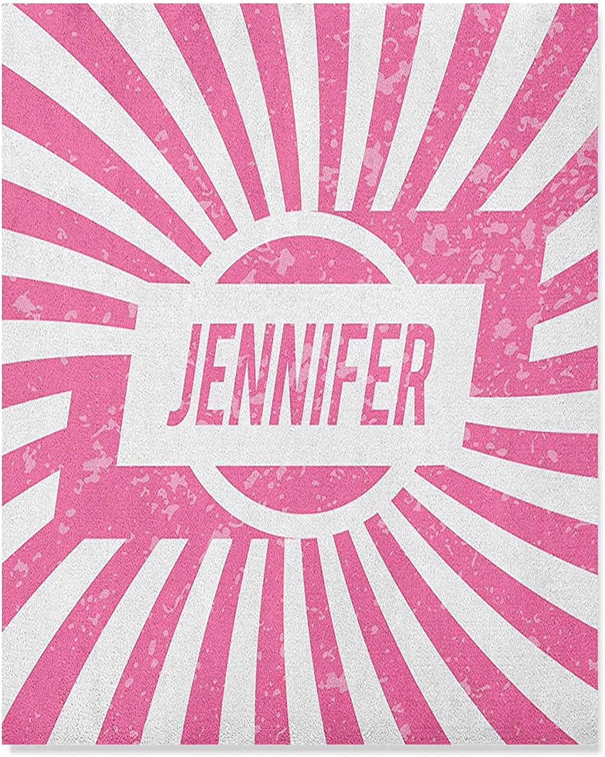 Jennifer Wall Pictures One of The Most Popular Names for Newborn American Girls in Retro Design 16x20 Inch Bathroom Wall Decor Office Home Decoration