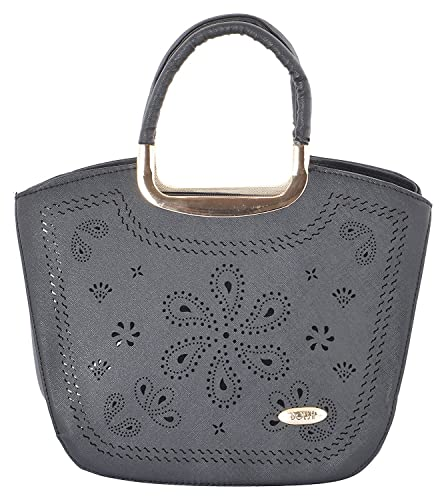 733c444acf GOURibags Stylish Trendy Handbags Shoulder Soft Leather Bag Women Ladies  Girl Purse Office Bag Party Wedding