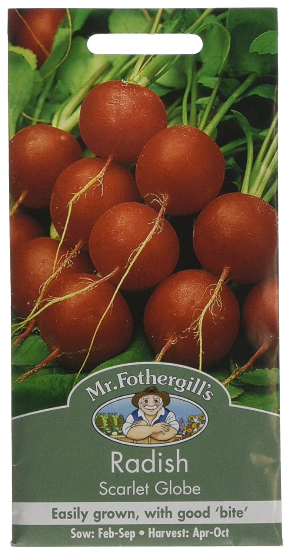 Mr Fothergill's 12894 Radish Scarlet Globe Seeds Mr Fothergill?s Seeds Ltd