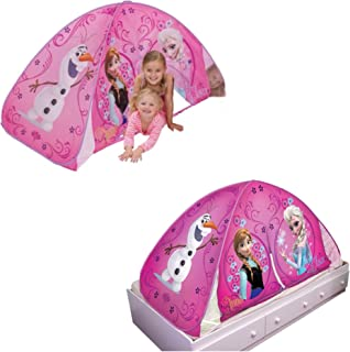 Disney Frozen 2 in 1 Play Tent / Bed Tent  sc 1 st  camelcamelcamel.com & Amazon.com: Playhut Disney Princess Slumber Bed Lounger: Toys u0026 Games