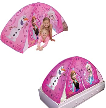 Disney Frozen 2 in 1 Play Tent / Bed Tent  sc 1 st  Amazon.com & Amazon.com: Disney Frozen 2 in 1 Play Tent / Bed Tent: Toys u0026 Games