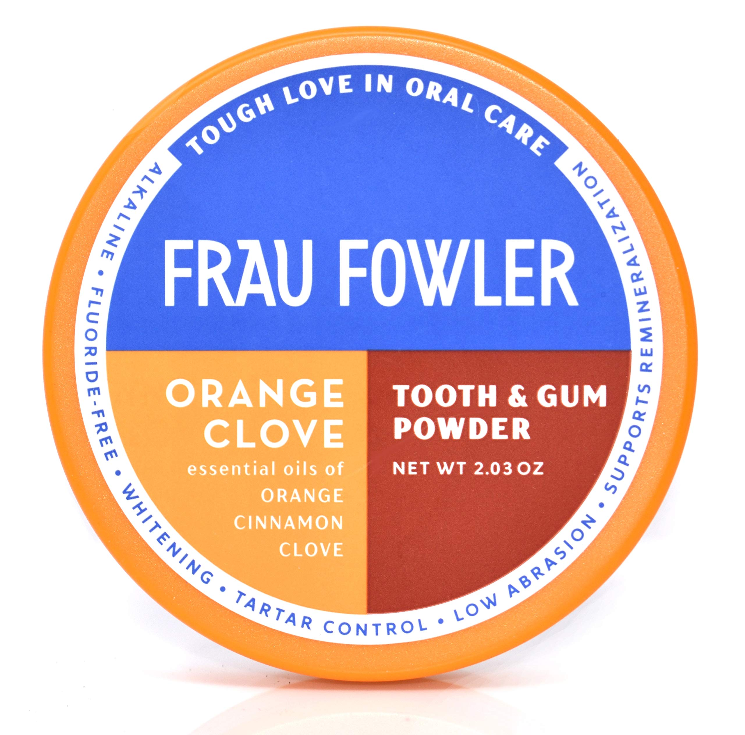 ORANGE CLOVE Tooth Powder For Kids or