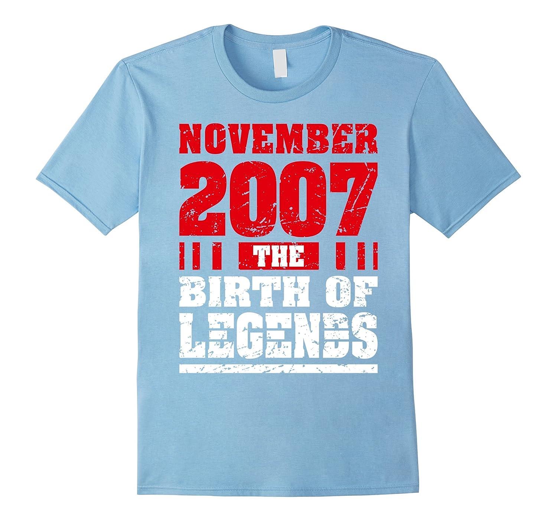 10th Birthday 10 Years Old Boy Born in November 2007 Tees-ANZ