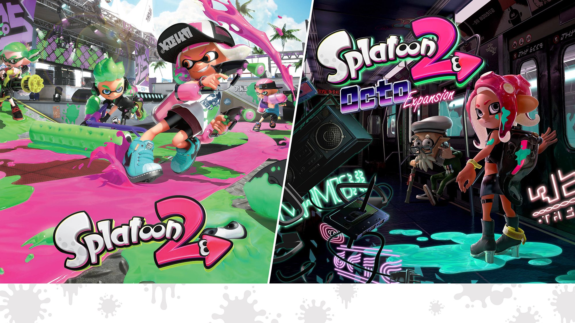 Splatoon 2 + Splatoon 2 Octo Expansion Bundle - Nintendo Switch [Digital Code]
