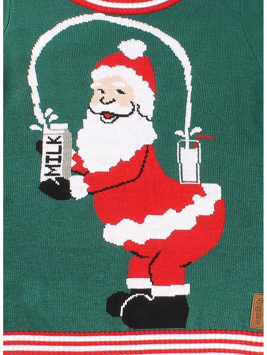 Amazon.com: Women\'s Break The Internet Ugly Christmas Sweater ...