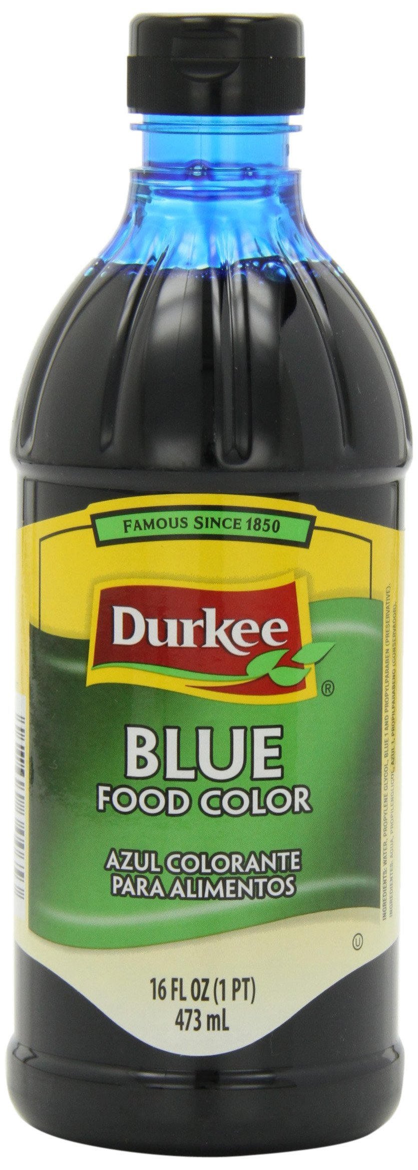 Durkee Blue Food Color, 16-Ounce Containers (Pack of 3) by Durkee (Image #1)