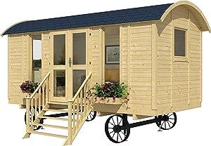 Allwood Mayflower   117 SQF Garden House, Cabin Kit