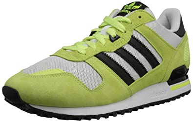 adidas Originals Men's ZX 700 Lifestyle Running Sneaker, Light Flash Yellow/Core Black/