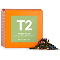 T2 Tea Green Rose Loose Leaf Green Tea in Box, 100 g