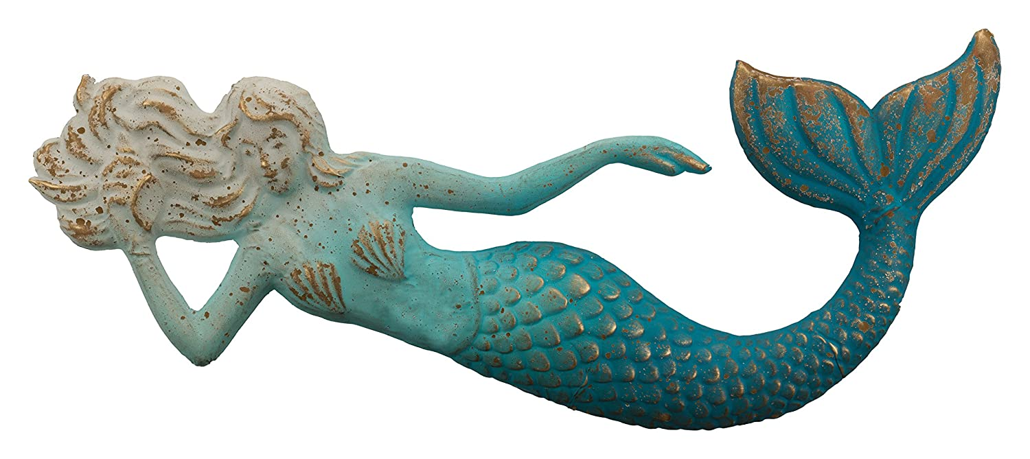 Amazon.com : Regal Art & Gift 11772 Mermaid Decorative Wall Art, 28 ...