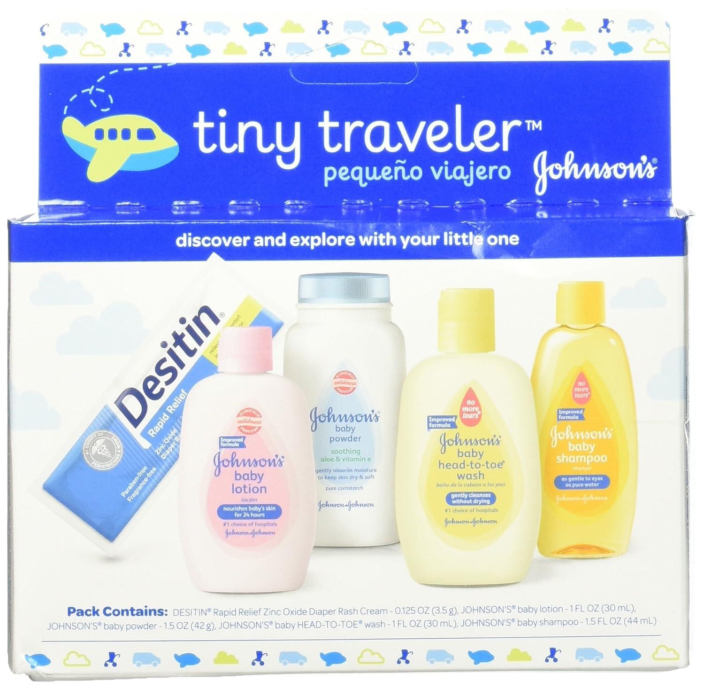 Amazon.com: Johnson\'s Tiny Traveler, Baby Bath And Baby Skin Care ...
