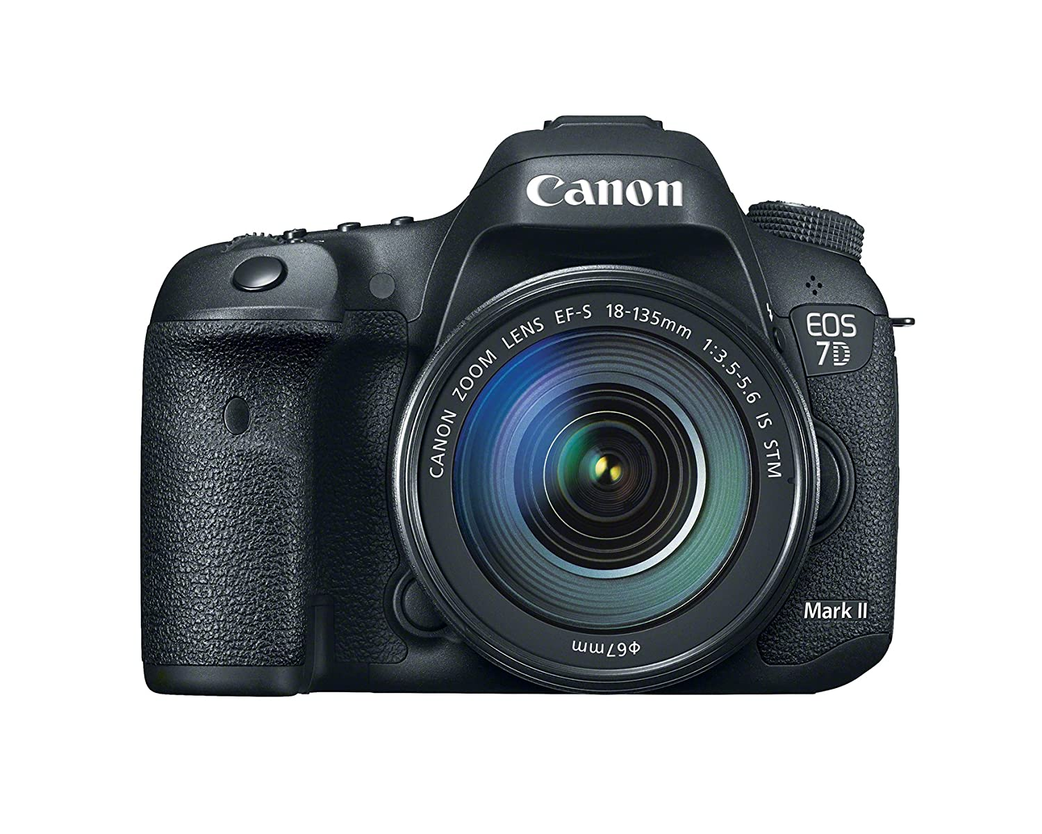 Canon Eos 7d Mark Ii Digital Slr Camera With 18 135mm Very Simple Touch Switch Using 4050 Cmos Buffer Is Stm Lens Photo