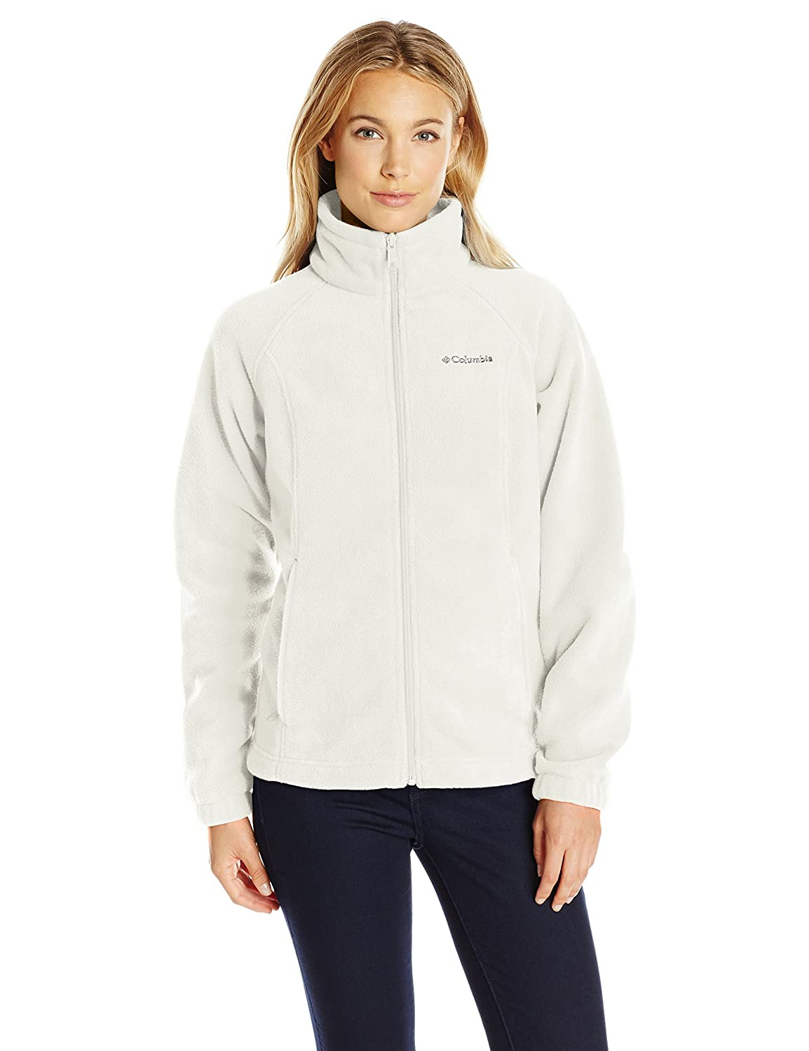 Columbia Womens Petite-Plus-Size Benton Springs Full Zip 1372113