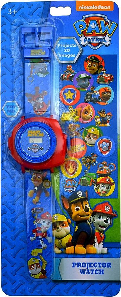 Reloj de pulsera digital proyector para niños de La Patrulla ...