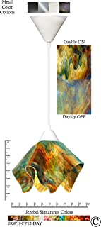 product image for Jezebel Signature JRWH-FP12-DAY White Flame Pendant, Small, Daylily