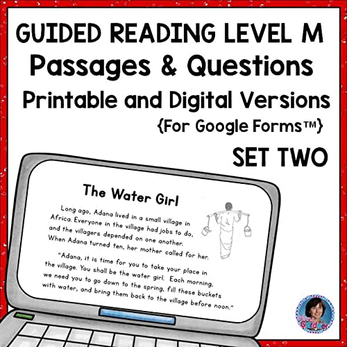 This Resource Includes Three Reading Comprehension Passages With Text-Based  Questions Written At Guided Reading Level M. Guided Reading Level M Is The  Goal, In Many Schools, For Students At The End Of Second Grade And At The  Beginning Of Third