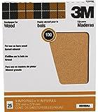 3M Pro-Pak Garnet Sanding Sheets, 100C-Grit, 9-Inch by 11-Inch