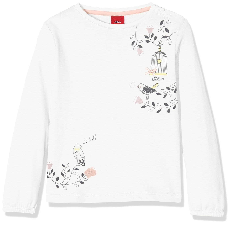 s.Oliver T- Shirt Manches Longues Bébé Fille 65.807.31.7960