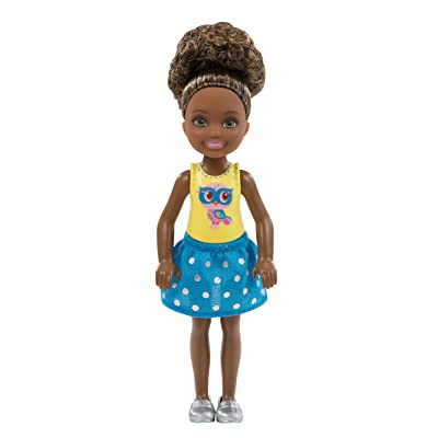Barbie Club Chelsea Doll, Owl Graphic Outfit: Toys & Games