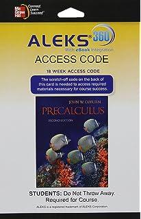 Precalculus julie miller donna gerken 9780078035609 amazon aleks 360 access card 18 weeks for precalculus fandeluxe Choice Image