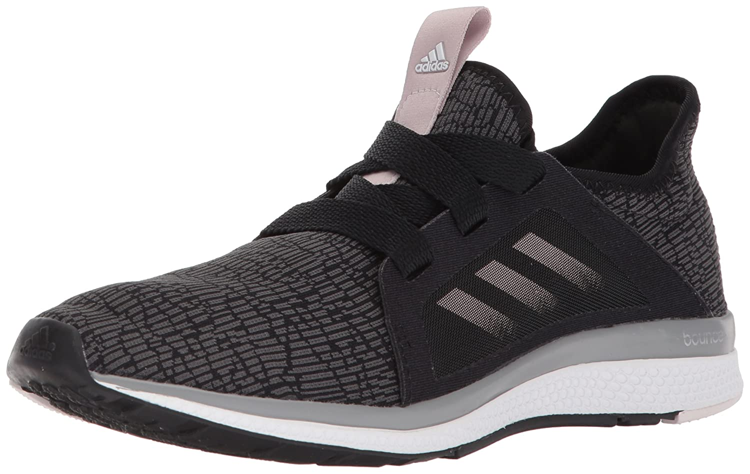 adidas Women's Edge Lux W Running Shoe B0721TZ6FF 8 B(M) US|Black/Vapour Grey Metallic/Orchid Tint