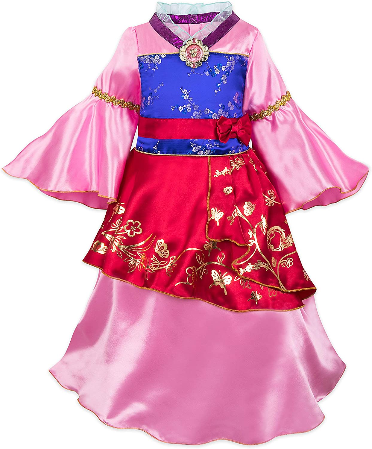 Disney Mulan Costume for Kids Multi