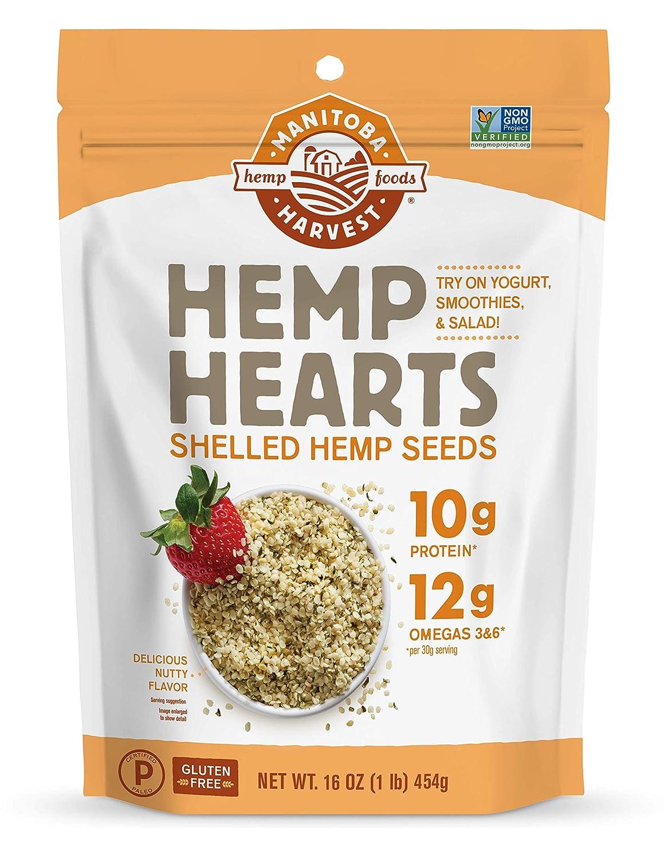 Hemp Hearts Raw Shelled Hemp Seeds