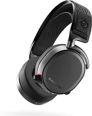Steelseries 61473 Arctis Pro Wireless Headset, Black