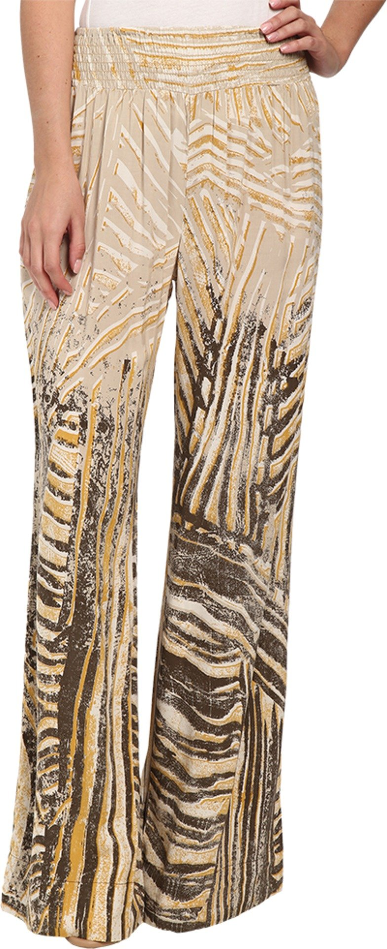 NIC+ZOE Women's Summer Shadows Pants Multi Pants SM (US 4-6) X 32