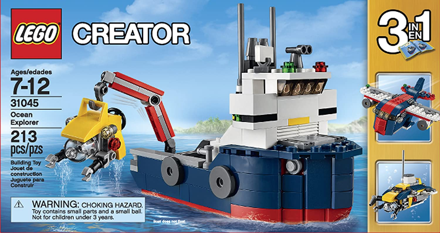 LEGO 31045 Creator Ocean Explorer Science...