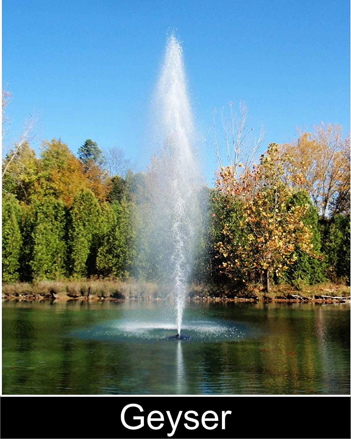 2hp WaterSmith PRO Aerating Pond Fountain