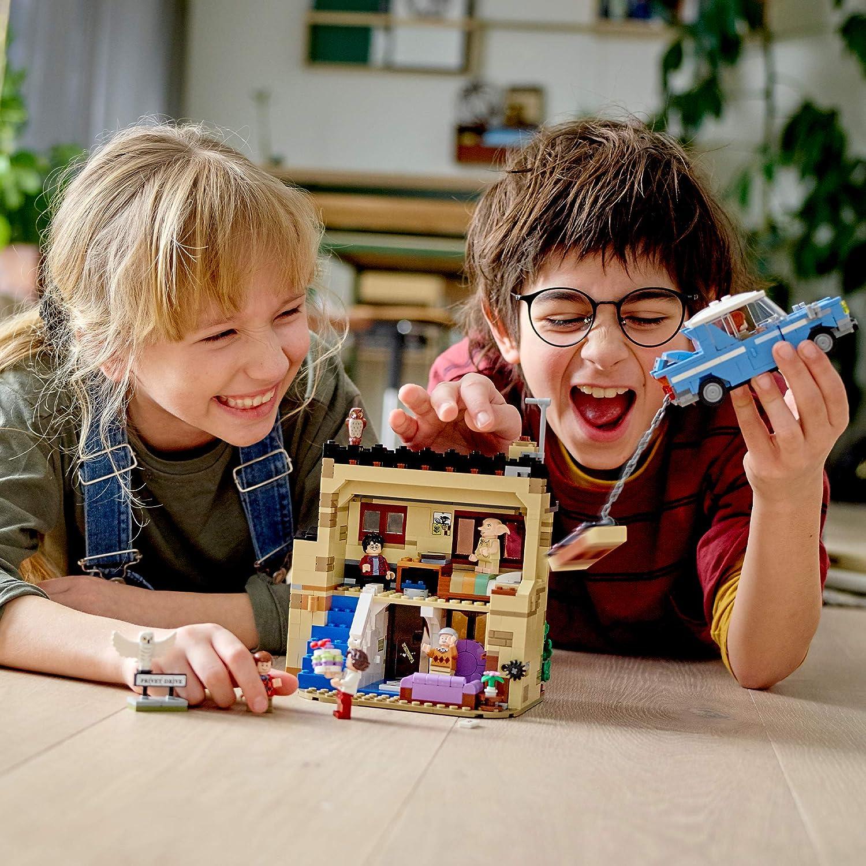 LEGO 75968 Harry Potter Número 4 de Privet Drive, Juguete de Construcción para Niños a Partir de 8 años con Ford Anglia y 6 Mini Figuras