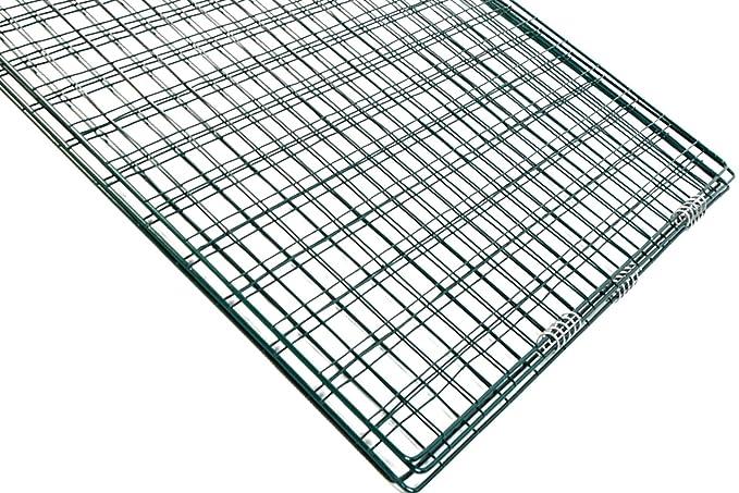 Rejilla de acero para compostador, 90 x 90 x 70 cm, color verde, malla de 4 x 6 cm: Amazon.es: Jardín