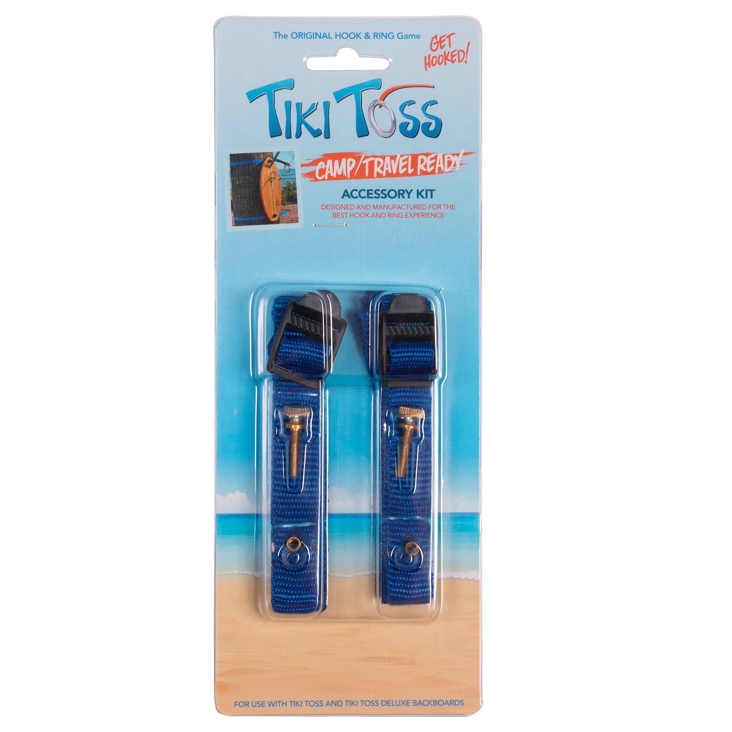 Tiki Toss Straps - Camping / Travel Straps To Hang Ring Game by Tiki Toss
