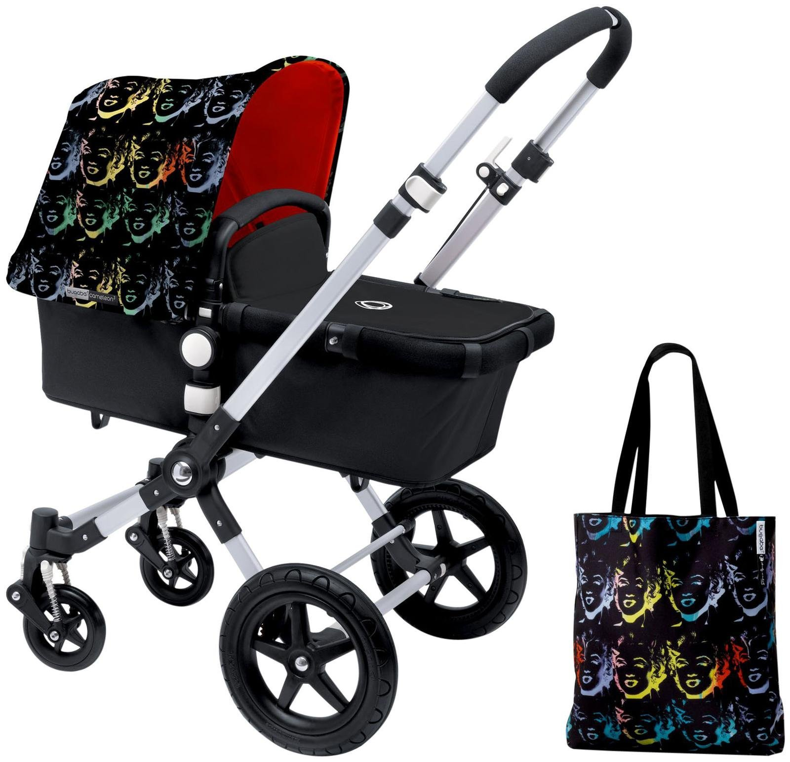 Bugaboo Cameleon3 Accessory Pack - Andy Warhol Marilyn/Orange (Special Edition)
